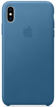 iPhone XS Max Leather Case - Cape Cod Blue чехол книжка для iphone xs max leather folio cape cod blue флип кожа