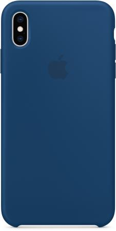 Накладка Apple Silicone Case - Blue Horizon для iPhone XS Max синий MTFE2ZM/A все цены