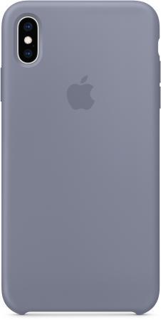 Накладка Apple Silicone Case - Lavender Gray для iPhone XS Max серый MTFH2ZM/A накладка apple silicone case для iphone 7 голубой mmx02zm a