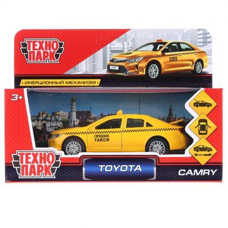 ТМ Технопарк. Машина металл TOYOTA CAMRY ТАКСИ, длина 12 см, откр дв, багаж, инерц. в кор.2*36шт playsmart play smart автопарк инерц машина со светом и звуком откр дверь газель 3221 такси 23см р40530