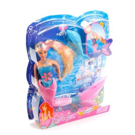 Кукла DEFA LUCY КУКЛА-РУСАЛКА 32 см светящаяся 8243 lucy lord vanity