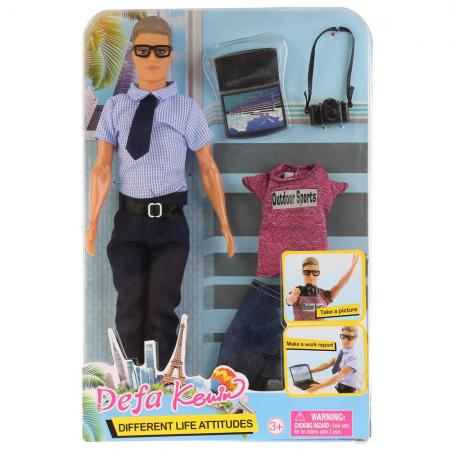 Кукла -мальчик с аксесс., в ассорт. на блистере в кор.24шт кукла defa lucy 8077