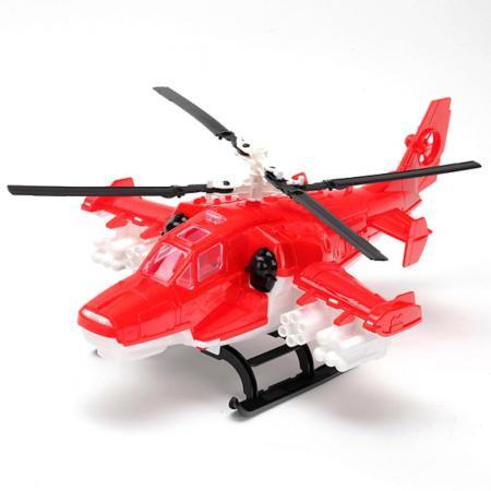 Вертолет Нордпласт ПОЖАРНЫЙ красный 249 игрушка нордпласт пожарный 294