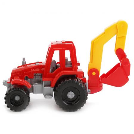 Трактор Нордпласт ИЖОРА красный 150 трактор игрушечный нордпласт трактор дон