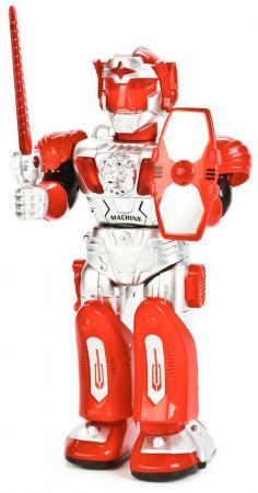 Робот на батарейках Shantou Gepai 27160 со звуком светящийся двигающийся боевой робот shantou gepai воин галактики 30 см двигающийся со звуком светящийся 6007