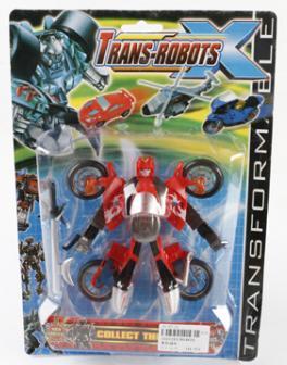 Робот-машина Shantou Gepai B1521193 игрушка shantou gepai машина перевертыш 666 858