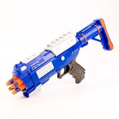 Пистолет Shantou Gepai 1402B синий 1404G519 пистолет shantou gepai 1402b синий 1404g519
