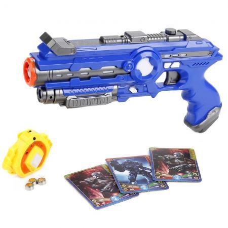 Пистолет Shantou Gepai Call of Warrior синий B1666080 пистолет shantou gepai 1402b синий 1404g519