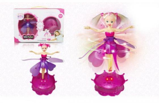 Кукла Shantou Летающая кукла 20 см со звуком светящаяся летающая 1605F374 александра полинина летающая среди звезд