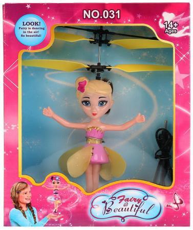 Кукла Shantou Фея со звуком светящаяся летающая в ассортименте радиоуправляемая игрушка летающая фея