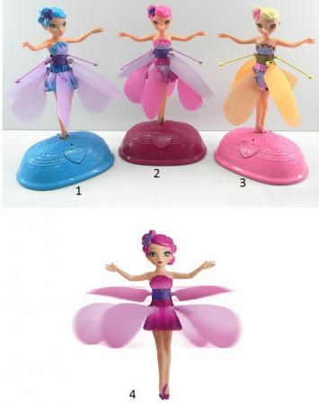 Кукла Shantou со звуком светящаяся летающая в ассортименте