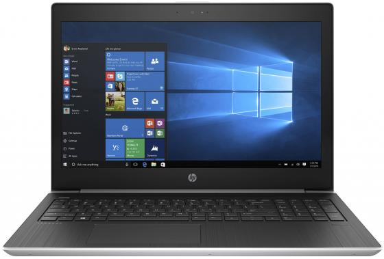 Ноутбук HP ProBook 450 G5 15.6 1920x1080 Intel Core i5-7200U 256 Gb 8Gb nVidia GeForce GT 930MX 2048 Мб серебристый Windows 10 Professional 4WV15EA