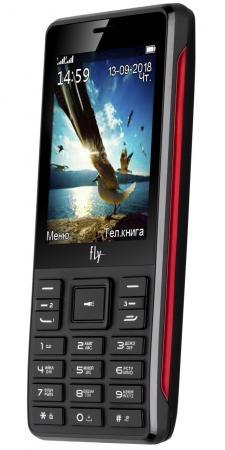 Мобильный телефон Fly Simple F200 черный 2.8 3 симкарты мобильный телефон ark benefit u281 белый 2 8 32 мб 3 симкарты