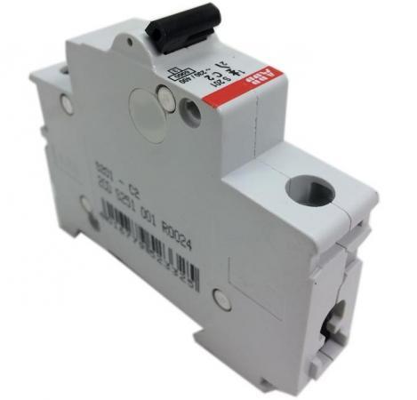 ABB 2CDS251001R0064 Автомат.выкл-ль 1-полюсной S201 C6 smc type pneumatic solenoid valve sy3120 2ld c6