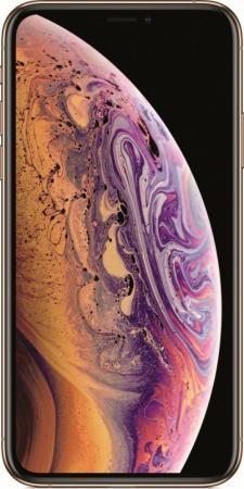 """Смартфон Apple iPhone XS золотистый 5.8"""" 64 Гб NFC LTE Wi-Fi GPS 3G MT9G2RU/A смартфон apple iphone 6 plus серый 5 5 64 гб nfc lte wi fi gps mgah2ru a"""