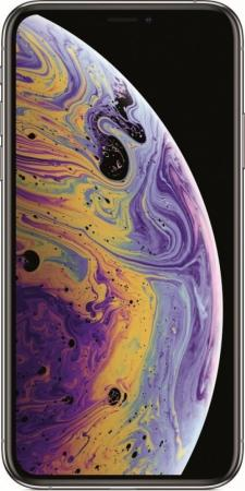 Смартфон Apple iPhone XS серебристый 5.8 512 Гб NFC LTE Wi-Fi GPS 3G MT9M2RU/A смартфон