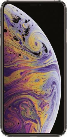 Смартфон Apple iPhone XS Max серебристый 6.5 64 Гб NFC LTE Wi-Fi GPS 3G MT512RU/A смартфон apple iphone 8 plus 64 гб серебристый mq8m2ru a