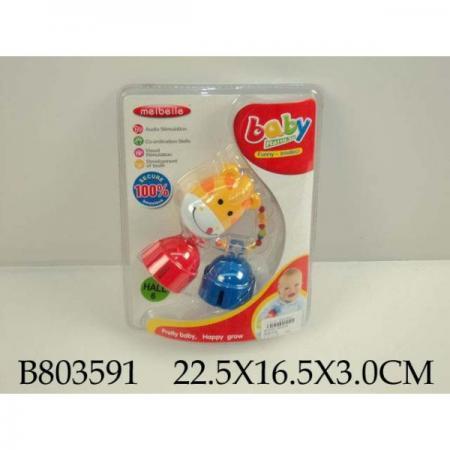 ПОГРЕМУШКА MS0016 НА БЛИСТЕРЕ 22*16*3СМ в кор.96шт игрушка пластмассовая box 16 14 3см погремушка 3 вида арт 5091