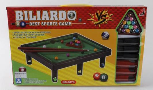 Настольная игра бильярд Shantou 6873 настольная игра shantou gepai аэрофутбол 5016