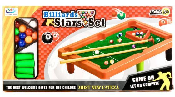 Настольная игра бильярд Shantou J676B игра настольная бильярд 28х44см