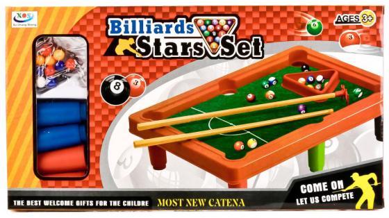 Настольная игра бильярд Shantou J686E настольная игра partida настольный бильярд детский 52x33x10cm