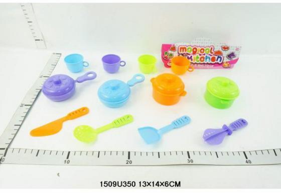 Набор посуды Shantou Gepai Magical Kitchen пластик