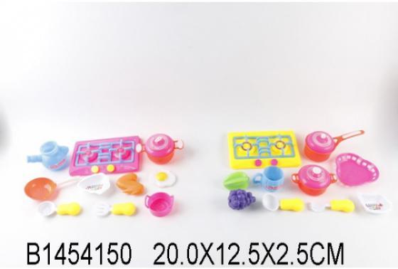 Набор посуды и продуктов Shantou Gepai B1454150 пластик набор продуктов shantou gepai пицца y5155422