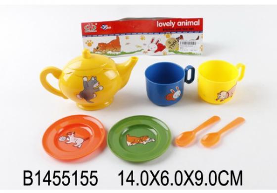 Набор посуды Shantou Gepai Lovely Animal пластик animal friend lovely bear канцелярский