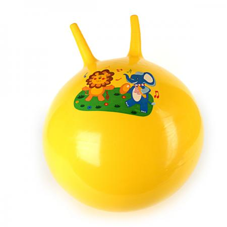 МЯЧ-ПРЫГУНОК ПВХ 55СМ 480ГР., В АССОРТ. В ПАК. в кор.60шт игрушка снежко мяч в ассорт