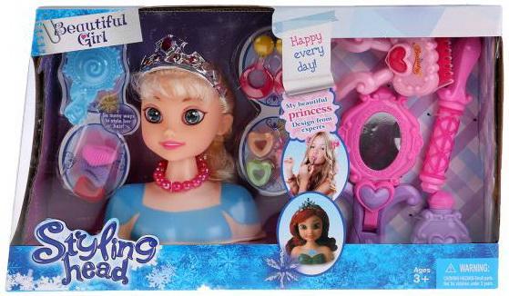 Кукла-манекен для создания причесок, с аксесс. B369 в кор. в кор.2*24шт куклы и одежда для кукол игруша кукла манекен для создания причесок i 353a