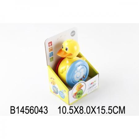 НЕВАЛЯШКА-УТЕНОК В ДИСПЛЕЕ 10*8*15СМ в кор.2*60шт развивающие игрушки simba утенок неваляшка
