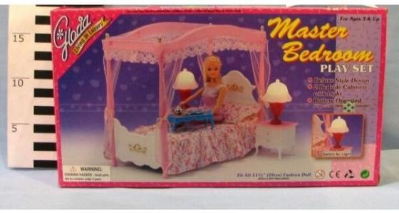 Купить Набор мебели Shantou Набор мебели для кукол с аксессуарами Спальня , Аксессуары для кукол