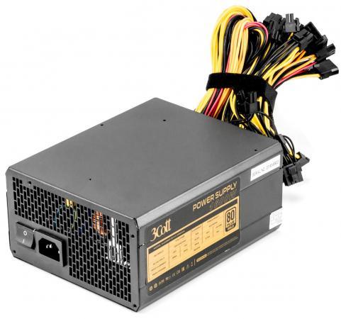 Блок питания ATX 1600 Вт 3Cott 1600W 3Cott-M1600A