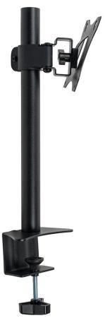 Кронштейн для мониторов Arm Media LCD-T01 black 15-32, max 7 кг, 4 ст свободы, наклон ±10°, поворот ±45°, высота штанги 358 мм, max VESA 100x100 мм ltn101nt05 t01 a lcd screen qau