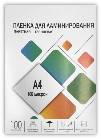 купить Пленка для ламинирования ГЕЛЕОС А4, (216х303), (100 мик), 100 шт.LPA4-100 по цене 355 рублей