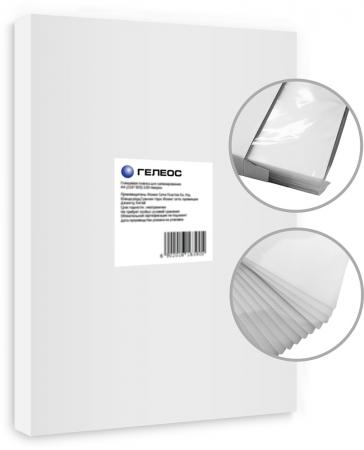 Пленка для ламинирования ГЕЛЕОС А3, (303х426), (100 мик), 100 шт. пленка для ламинирования office kit 100 мик а3 100 шт глянцевая 303х426 plp10630