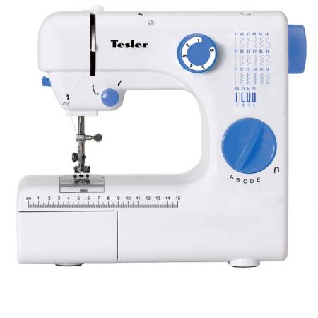 Швейная машина TESLER SM-2030 Кол-во строчек 20, полуавтомат морозильник tesler rf 90 белый