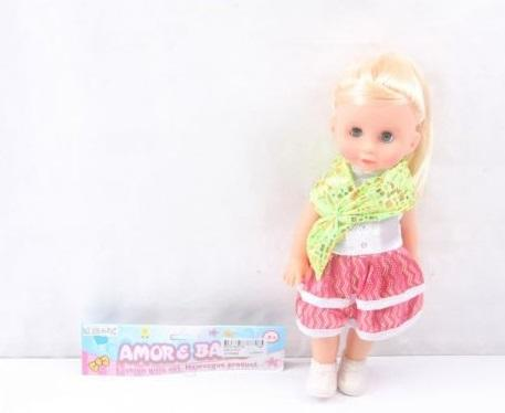 КУКЛА В ПАК. 27СМ в кор.2*72шт игрушка мягкая санта клаус снеговик 18 7 27см 2вида с декоративными стразами упаковочный пак