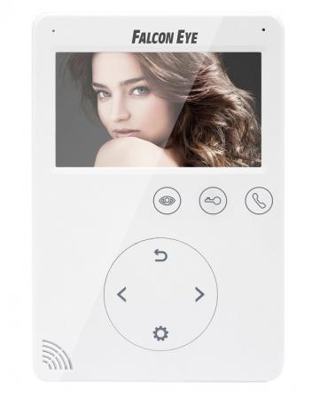 """Видеодомофон Falcon Eye FE-VELA дисплей 4.3"""" TFT; сенсорный экран; подключение до 2-х вызывных панелей и до 2-х видеокамер; интерком; графическое меню; цена и фото"""