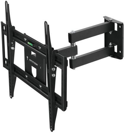 Фото - Кронштейн Arm media PT-15 NEW Black для TV 32-55, max 35 кг, 4 ст. свободы., от стены 105-429 мм. max VESA 400x400 мм. кронштейн arm media projector 3 для проекторов настенно потолочный 3 ст свободы max 20 кг 120 650 mm черный