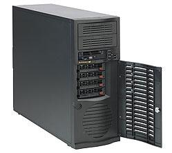"все цены на Корпус Supermicro CSE-733TQ-668B Mid Tower chassis 4x3.5"" hot-swap E-ATX 668W"