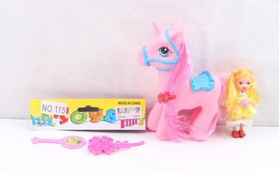 Игровой набор Shantou Пони с куклой и аксессуарами в ассортименте игровой набор funville кукла модель pixy punks для создания причесок с аксессуарами в ассортименте