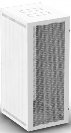 """Шкаф 19"""" напольный 18U 600x800, дверь перфорированная, серый, 4ч, NT BASIC MP18-68 G"""