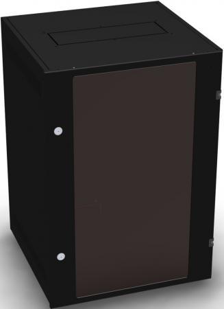 Шкаф 19 напольный 24U 600x800, дверь со стеклом, чёрный, 4ч, NT BASIC MG24-68 B розетка abb bjb basic 55 шато 2 разъема с заземлением моноблок цвет чёрный