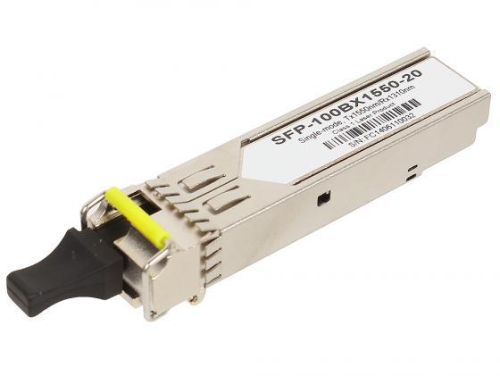 Трансивер ZyXEL SFP-100BX1550-20 Одноволоконный SFP-трансивер 100BX 1550 нм для одномодового оптоволоконного кабеля на расстояние до 20 км шины для легковых автомобилей vredestein 255 40r 20 101 825 кг y до 300 км ч