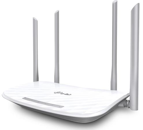 Маршрутизатор TP-LINK Archer C5 AC1200 802.11abgnac 1167Mbps 5 ГГц 2.4 ГГц 4xLAN USB белый маршрутизатор tp link archer vr400 802 11aс 100mbps 2 4 ггц 5 ггц 4xlan usb черный