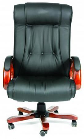 Офисное кресло Chairman 653 NL черный (7001203) офисное кресло chairman 670 mebelvia