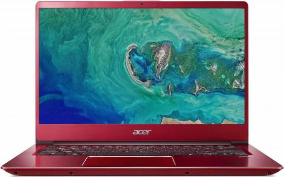"Ноутбук Acer Swift SF314-54-39Z2 14"" 1920x1080 Intel Core i3-8130U 128 Gb 8Gb Intel UHD Graphics 620 красный Windows 10 Home NX.GZXER.005 цена"