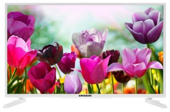 Телевизор LED 32 Erisson 32FLEA96T2SMW белый 1920x1080 50 Гц Wi-Fi USB HDMI SCART
