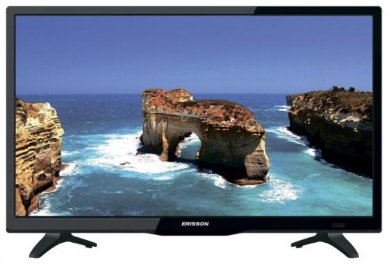 Телевизор LED 28 Erisson 28LEA20T2SM черный 1366x768 50 Гц Wi-Fi USB HDMI SCART